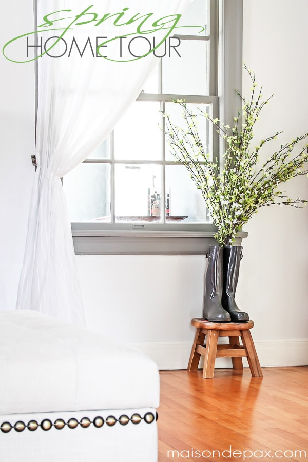 Spring decor ideas plus 10 practical ways to freshen up your home for spring | maisondepax.com