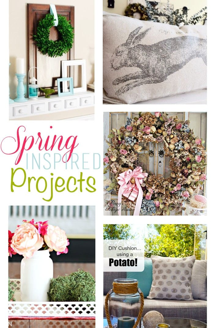 spring inspired diy projects | maisondepax.com