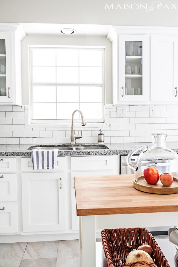 White Kitchen Renovation budgeting tips for a kitchen renovation - maison de pax