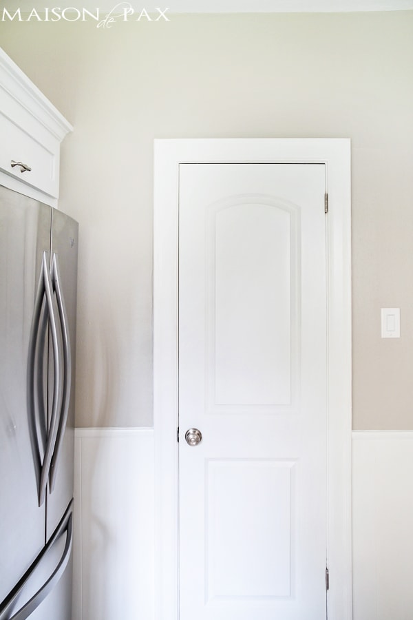 gorgeous classic white kitchen renovation and budget tips | maisondepax.com