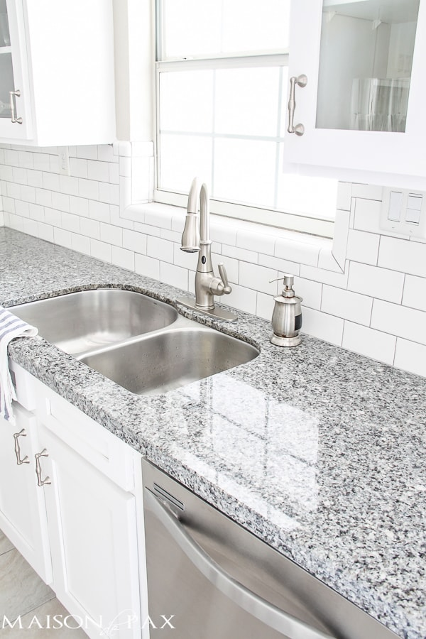 gorgeous classic white kitchen renovation and full source list | maisondepax.com