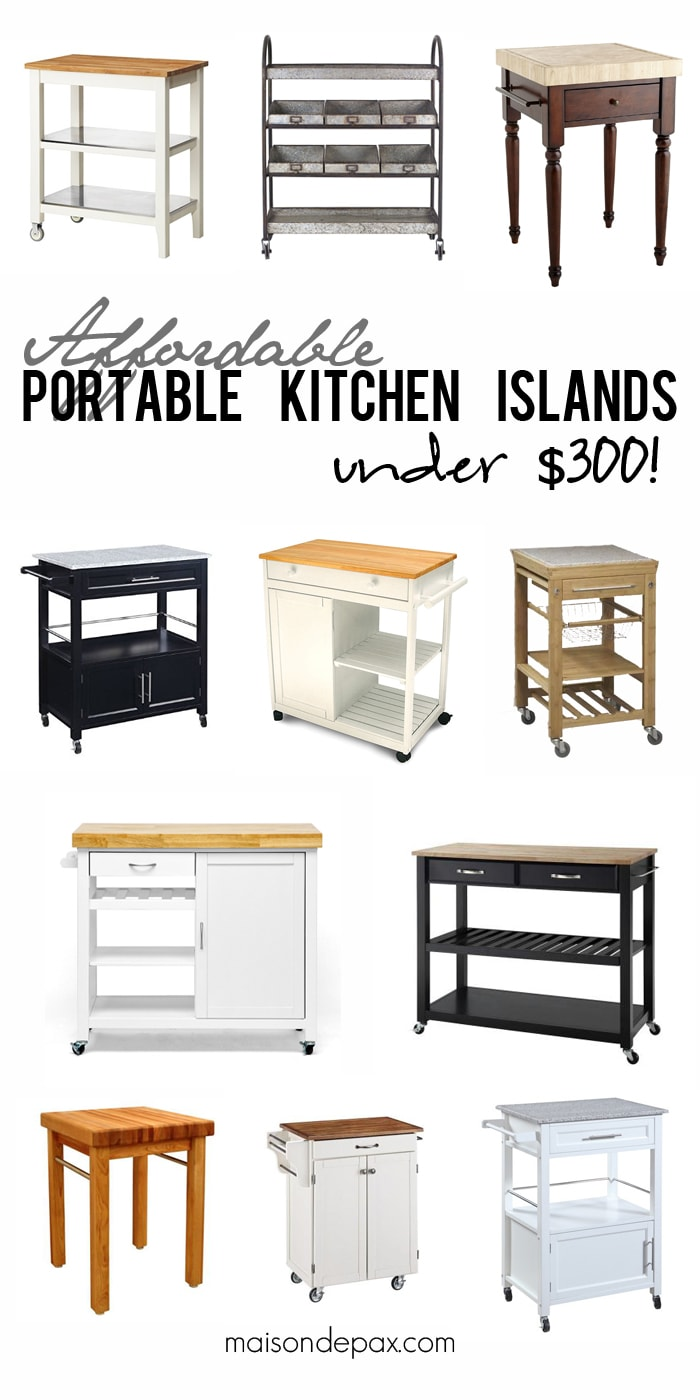 where to buy affordable kitchen islands maison de pax affordable small kitchen island ideas and red kitchen