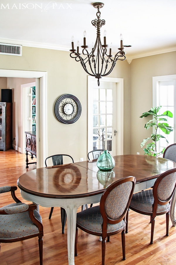 Simple French Dining Room
