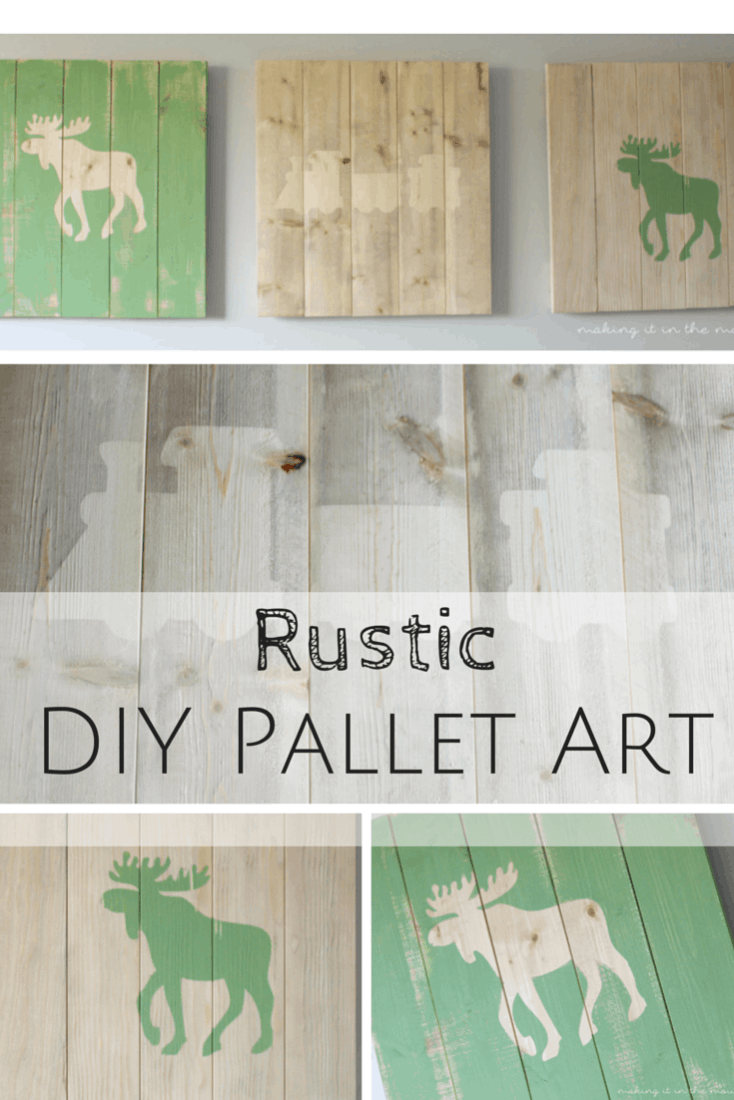 Rustic DIY Pallet Art | Making It In the Mountains