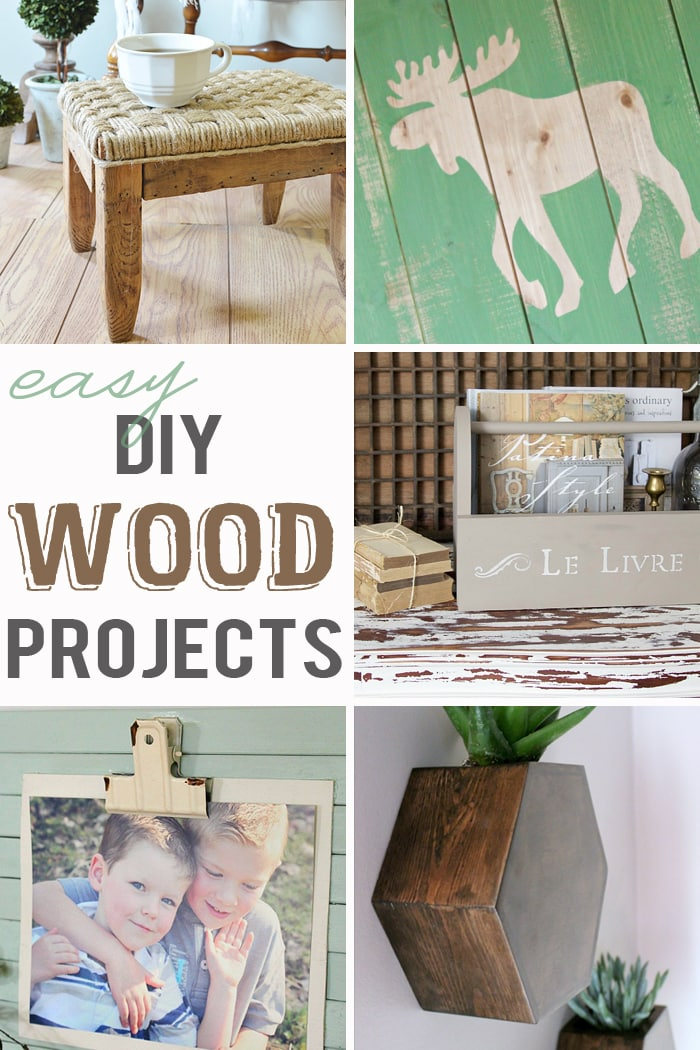 ... DIY wood projects are so easy, you'll want to make them all