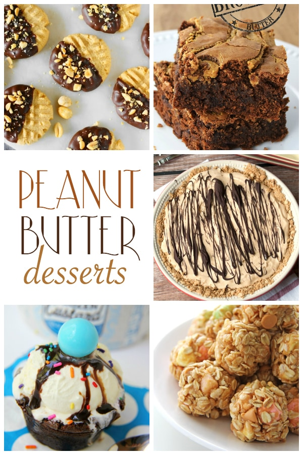 delicious, rich, creative peanut butter dessert recipes! maisondepax.com
