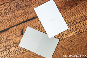 gorgeous white and gray color palette with warm wood | maisondepax.com