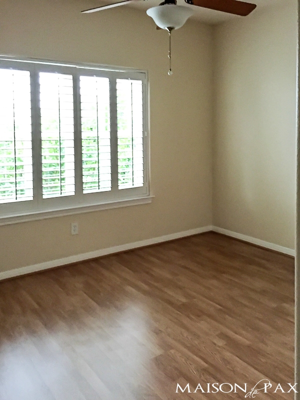 The office... before. Come see how this 1990's home was transformed and updated beautifully!
