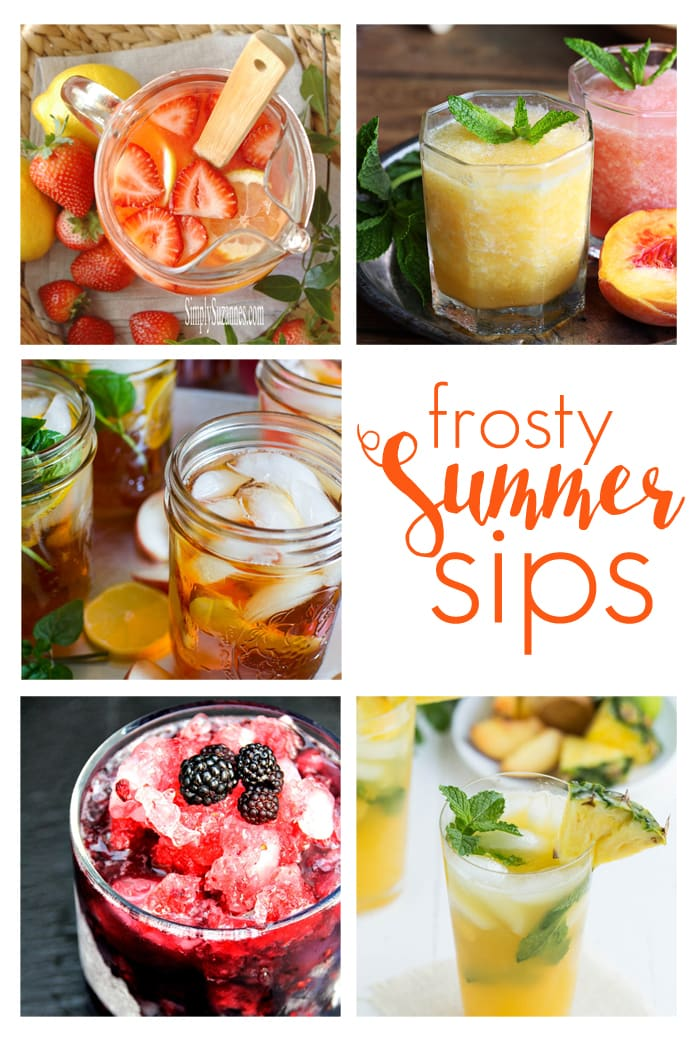 Frosty Summer Sips: delicious and creative summer drink recipes, perfect for entertaining or a night in | maisondepax.com