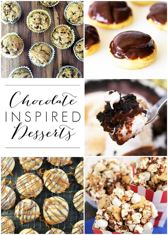 Delicious chocolate inspired desserts... Yum! maisondepax.com