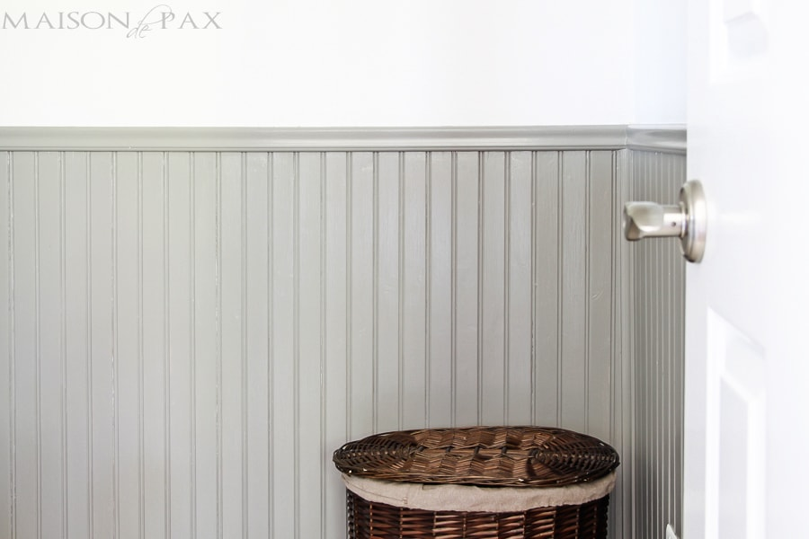 Tips For Painting Wainscoting Maison De Pax
