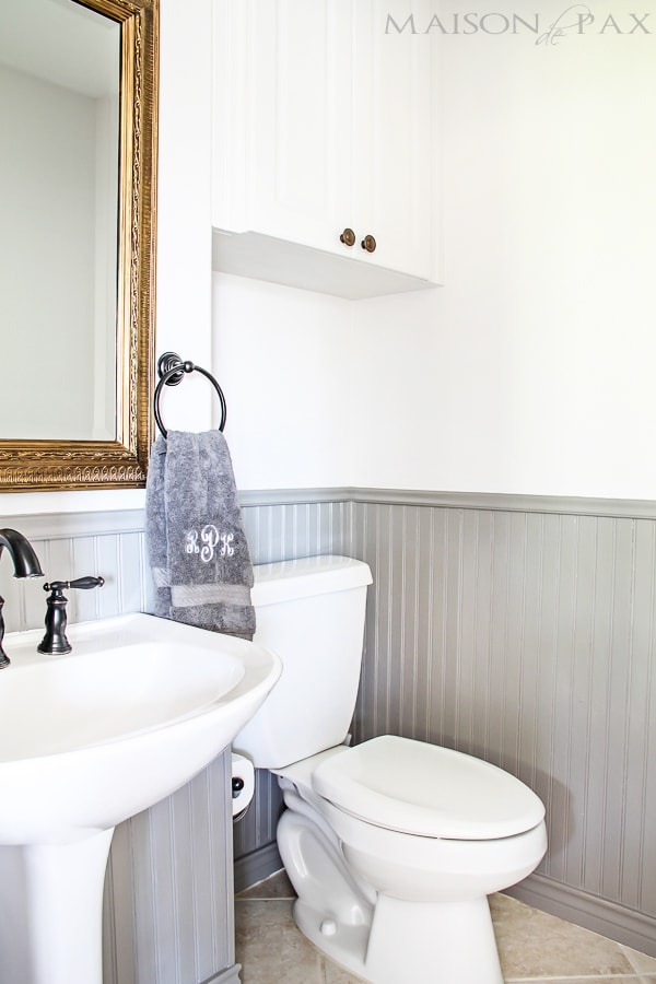 Tips for painting wainscoting | maisondepax.com