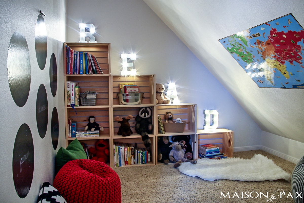 Creating A Reading Space Maison De Pax