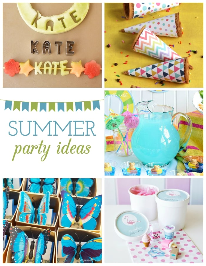 Celebrate summer with these adorable party ideas! maisondepax.com