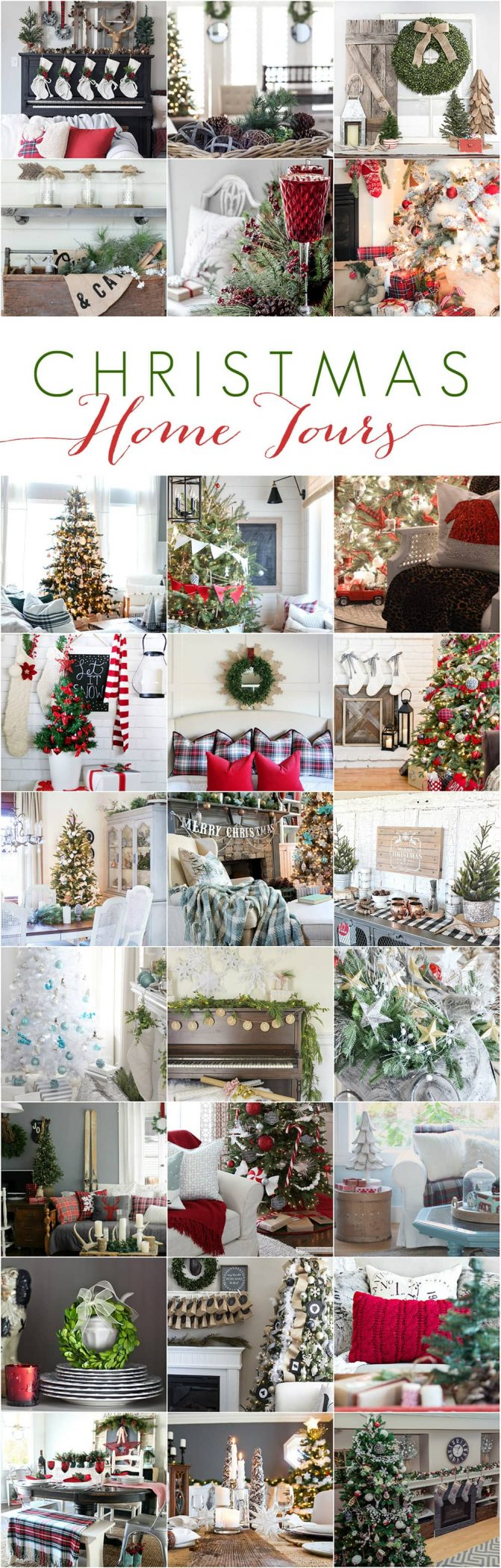 25 incredible Christmas home tours: decorating ideas and inspiration! maisondepax.com