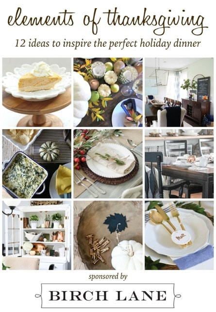 Everything you need for a beautiful Thanksgiving: activity, centerpiece, recipes, napkins, and more | maisondepax.com