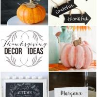 Simple, easy, beautiful Thanksgiving decor ideas | maisondepax.com