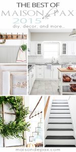 So many fabulous diy projects and ideas! best of maisondepax.com 2015
