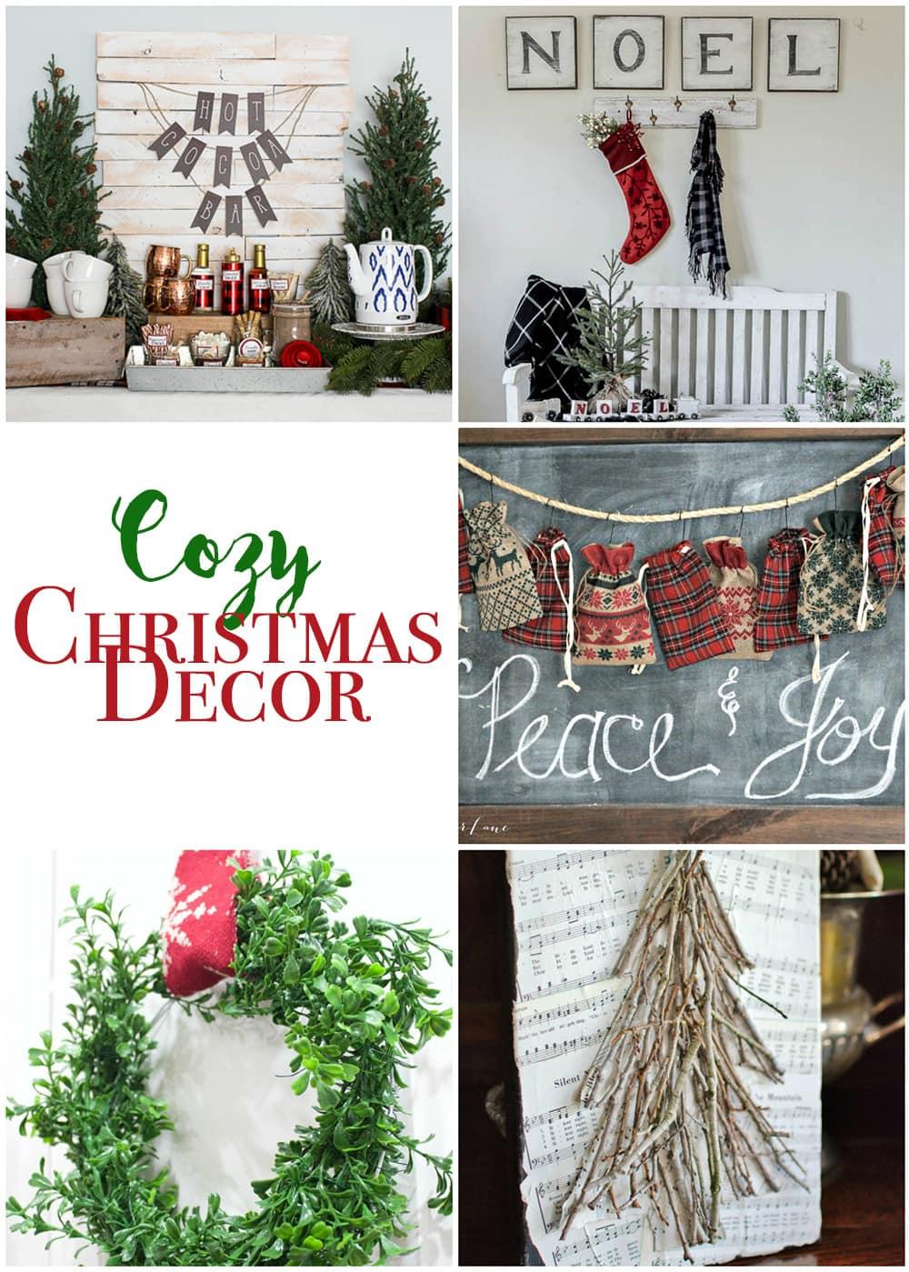 Cozy christmas decor maison de pax for Maison decorative