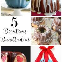 Creative ideas for a bundt pan