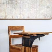 adorable restored vintage school desk   maisondepax.com
