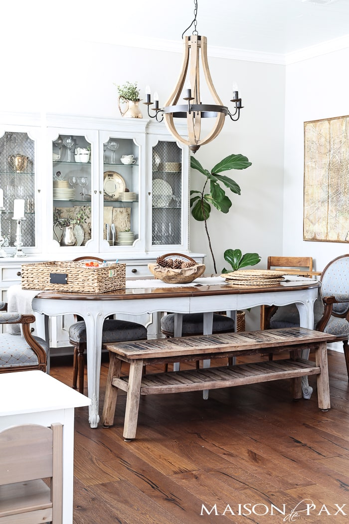 beautiful french country dining room | maisondepax.com