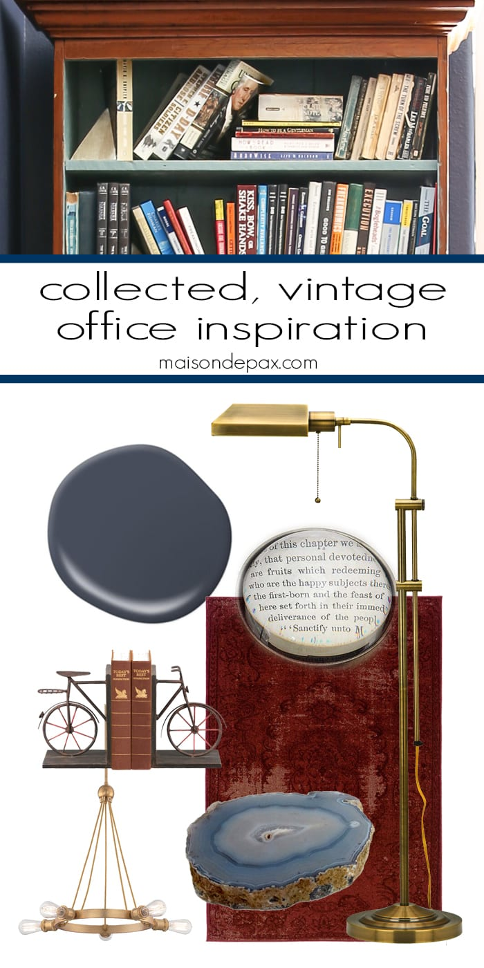 love these fun, vintage accessories for use in an office