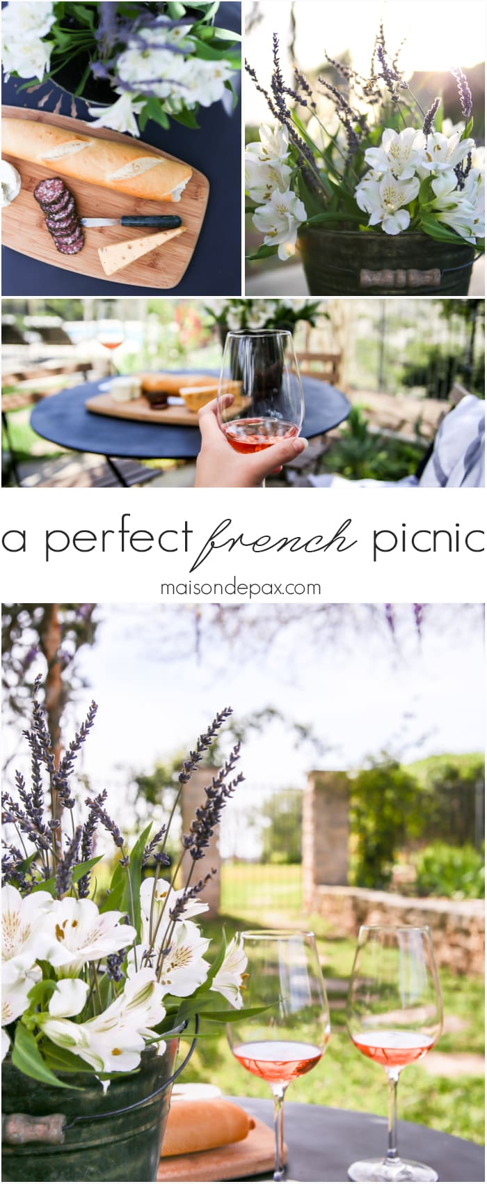Simple rustic elegance! A perfect French picnic | maisondepax.com