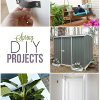 Need a little refresh this spring? Don't miss these DIY projects for your home and garden!