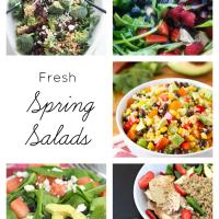 Delicious fresh spring salad recipes | maisondepax.com