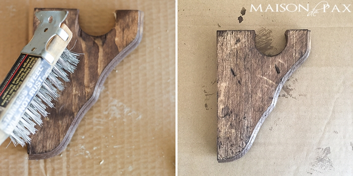 these are awesome! DIY wood curtain rods with a Restoration Hardware look for a fraction of the price | maisondepax.com