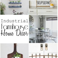 Industrial Farmhouse Home Decor: diy projects, decorating, and more | maisondepax.com