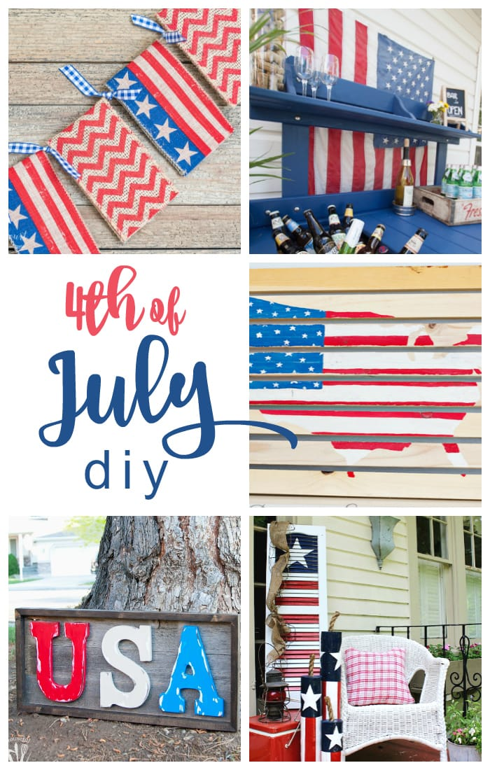 fabulous patriotic diy perfect for the 4th of July