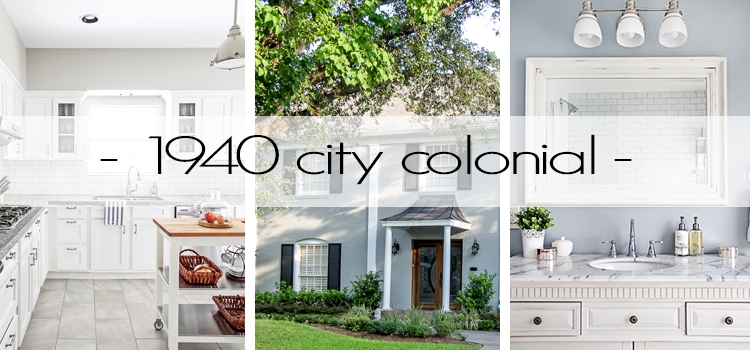 tour a gorgeous 1940 colonial restored to its former beauty but with modern graces - full of diy and decorating ideas