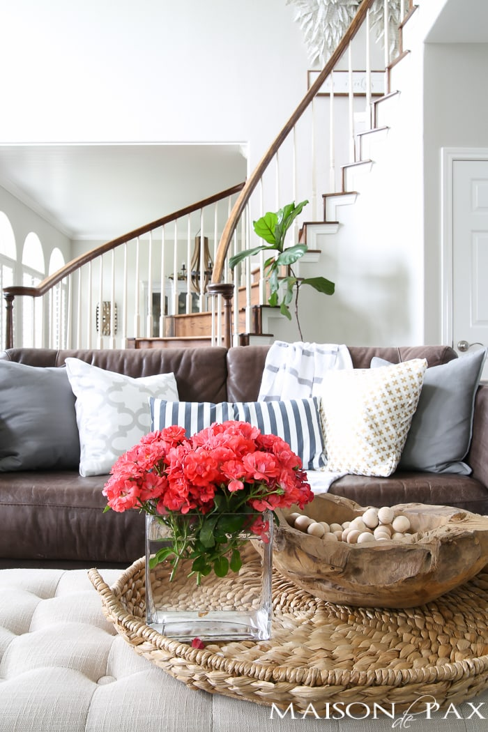 how to decorate your home for summer in 10 minutes or less   quick summer decorating ideas