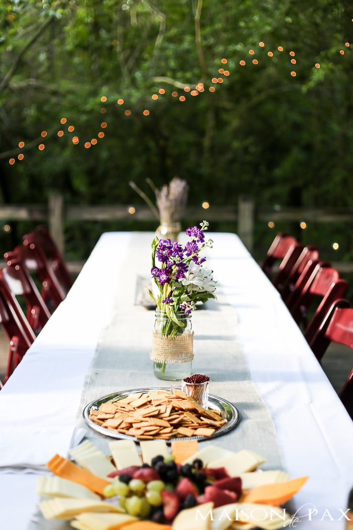 rustic wedding decorations | creative decorating ideas for a rustic chic wedding or rehearsal