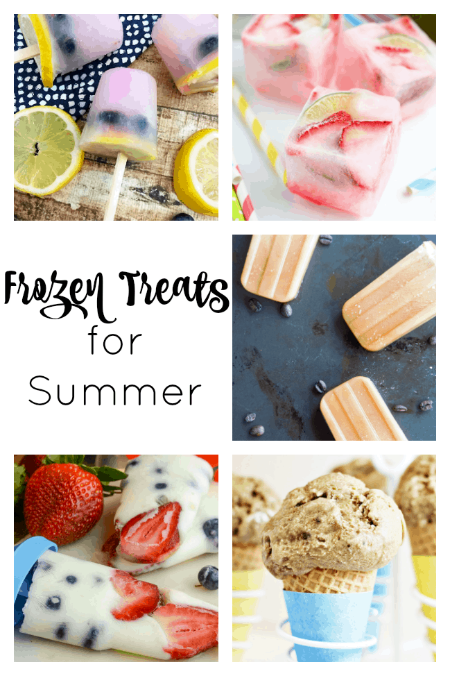 frozen treat recipes - perfect for summer!