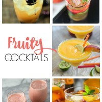 delicious fruity cocktail recipes, perfect for entertaining or enjoying a night in!