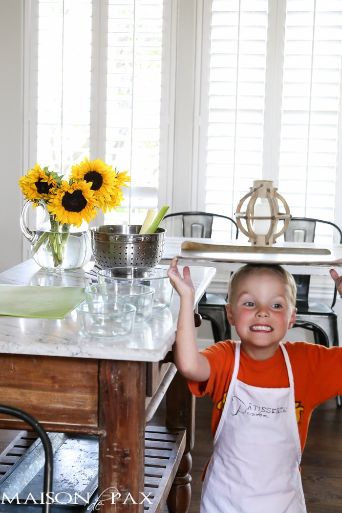 Reclaiming Family Meal Time: how to encourage kids to help in the kitchen