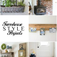 Farmhouse style home decor projects: DIY and decorating for that Fixer Upper look
