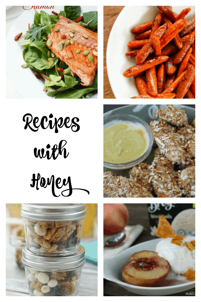 Recipes with Honey: breakfast lunch or dinner, these honey recipes will sweeten your day!