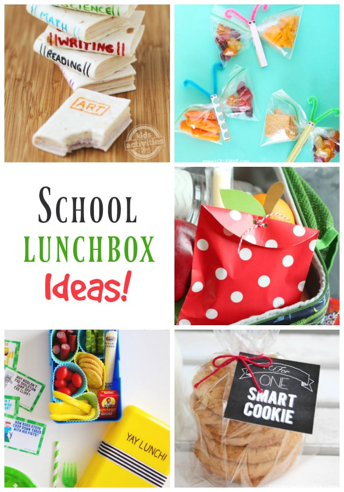 Adorable and fun school lunchbox ideas!