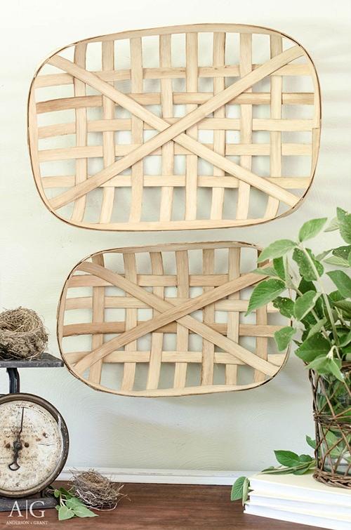 how to make a diy tobacco basket