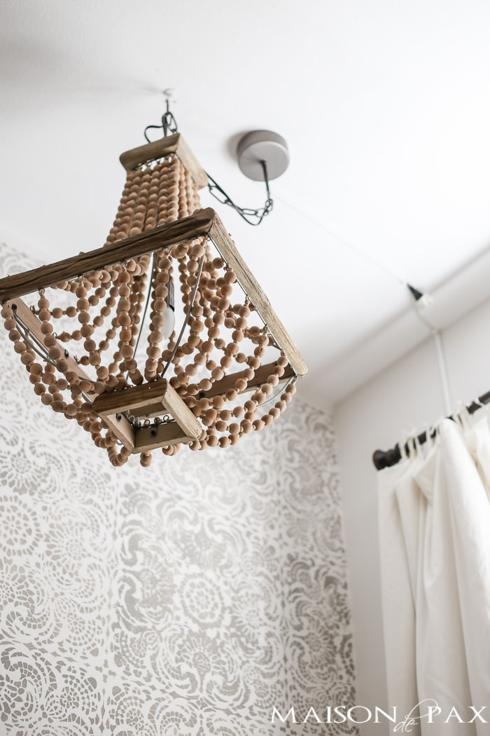 How to hang a plug in chandelier maison de pax how to hang a plug in chandelier aloadofball Gallery