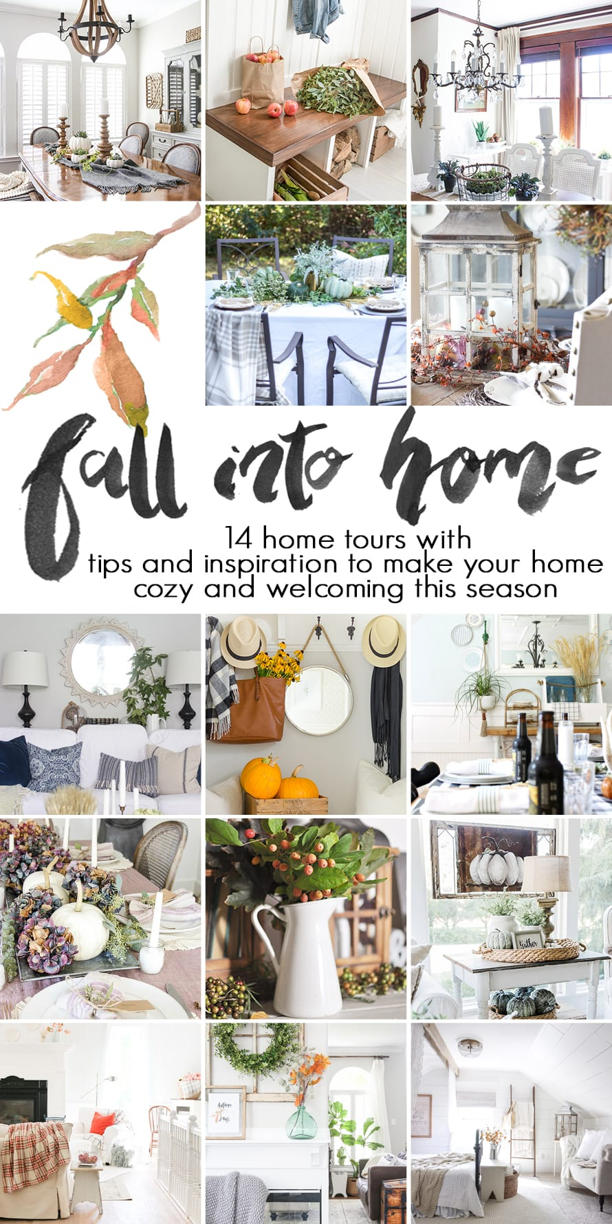 Fall Bedroom + Fall Into Home Tour - Love Grows Wild