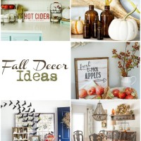 So many cute fall decor ideas!
