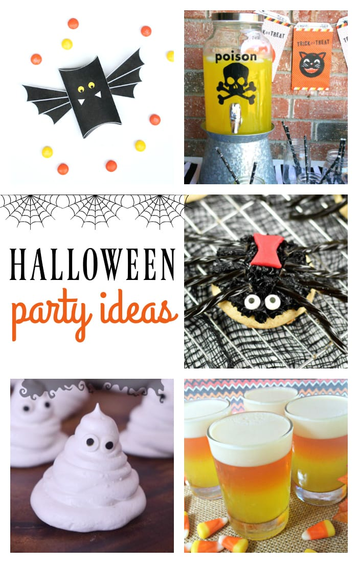 Cute, creative Halloween party ideas!