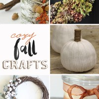 cute, cozy fall crafts: easy DIYs to make your home cozy and welcoming for fall!