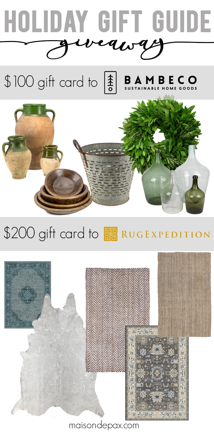Looking for a Christmas gift for a woman in your life? These gifts are perfect for wives, moms, daughters, friends, teachers, and sisters. Click to enter to win these awesome prizes and see this holiday gift guide for her!