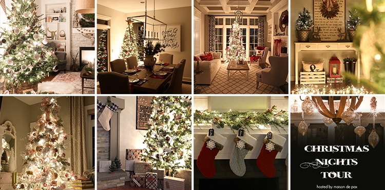 christmas nights tour incredible 35 beautiful homes all decorated for the holidays and lit